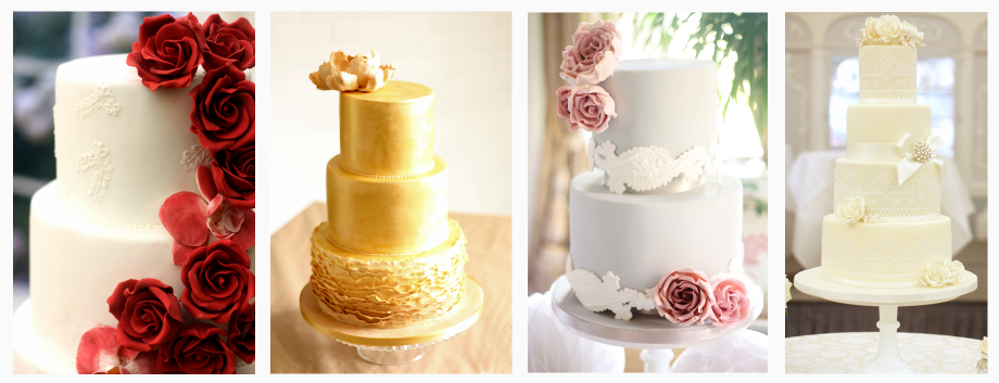 Wedding cakes london